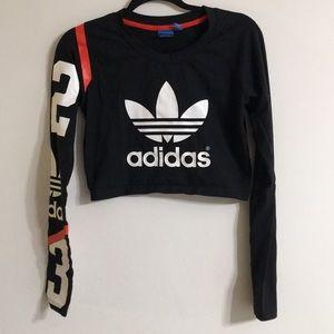 Crop Adidas top